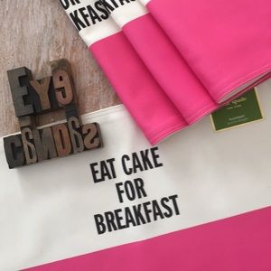 ♠️KATE SPADE New York 'Food For Thought' Placemats